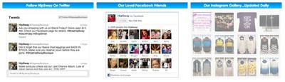 Twitter, Facebook or Instagram Feed Install