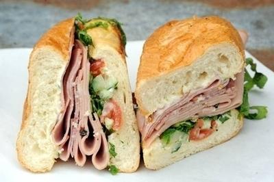 02.  Pate Cold Cut Sandwich LARGE (Banh Mi Thit Nguoi)