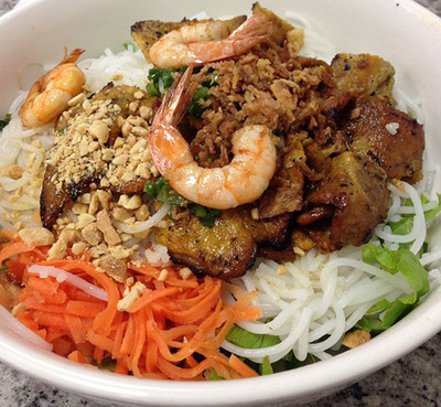 52. Shrimp, Grilled Pork & Noodles (Bun Tom Thit Nuong)