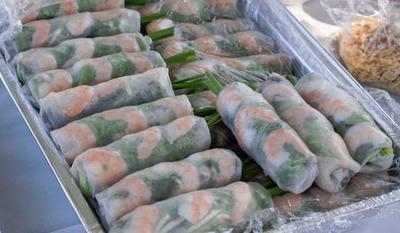 202A. Spring Roll, Shrimp or Shrimp & Pork (20 Rolls)