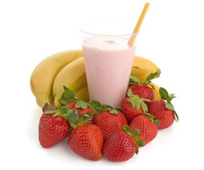 95. Strawberry Banana (Smoothie)