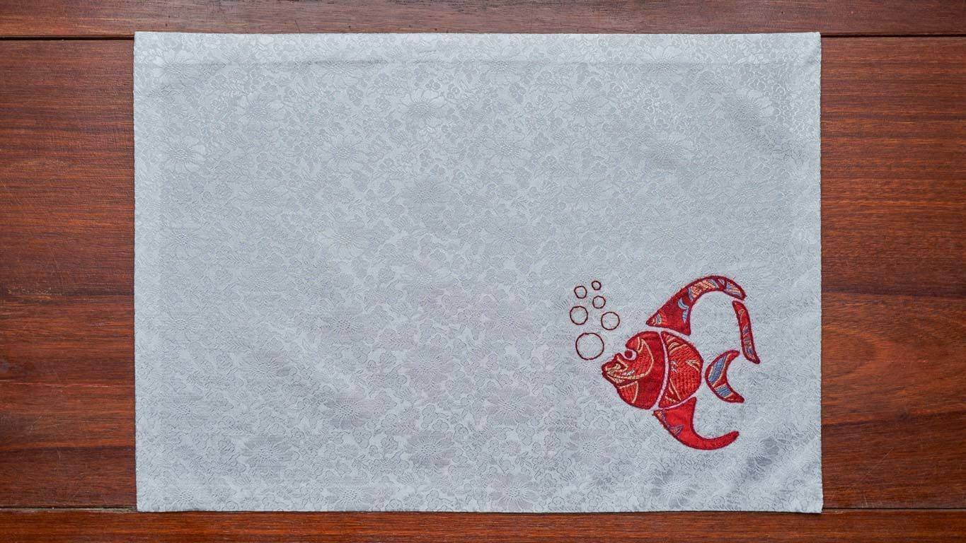 "Placemat ""Colourful Fishes"" CH53TT"