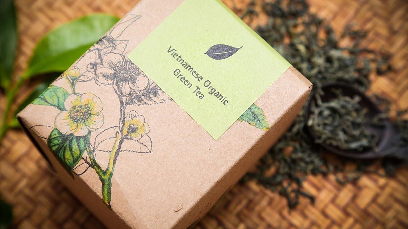 Vietnamese Organic Green tea TC100GT