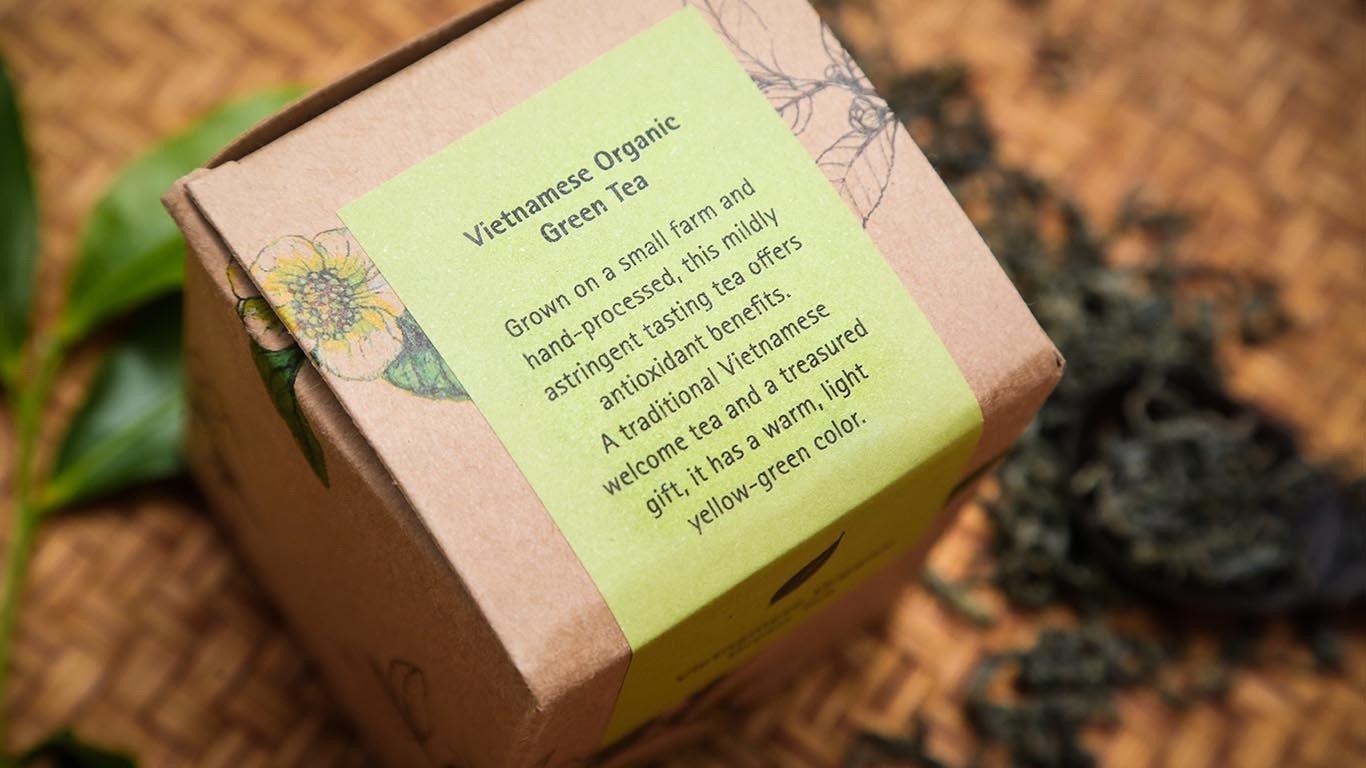 Vietnamese Organic Green tea