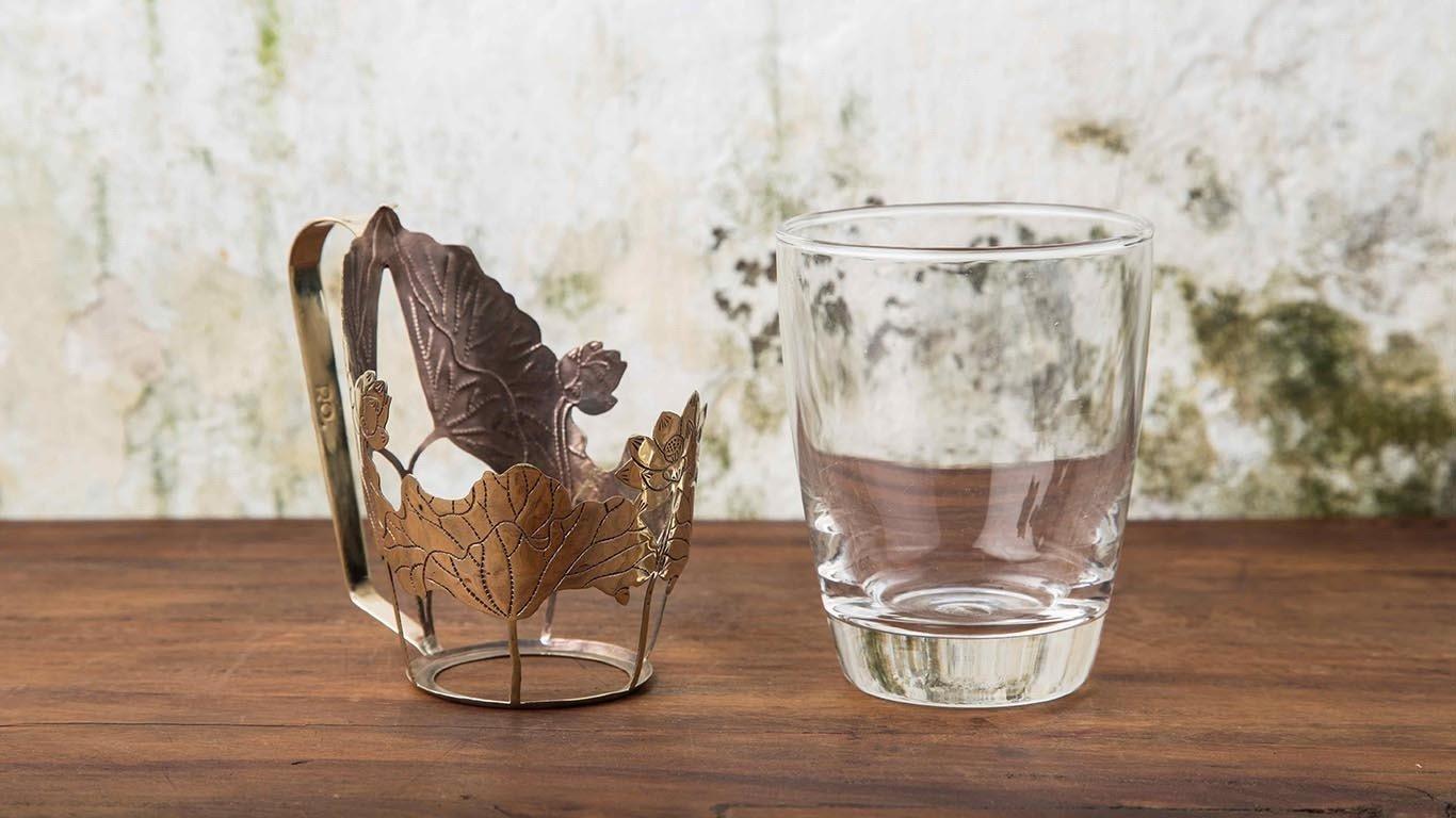 Brass cup holder 2