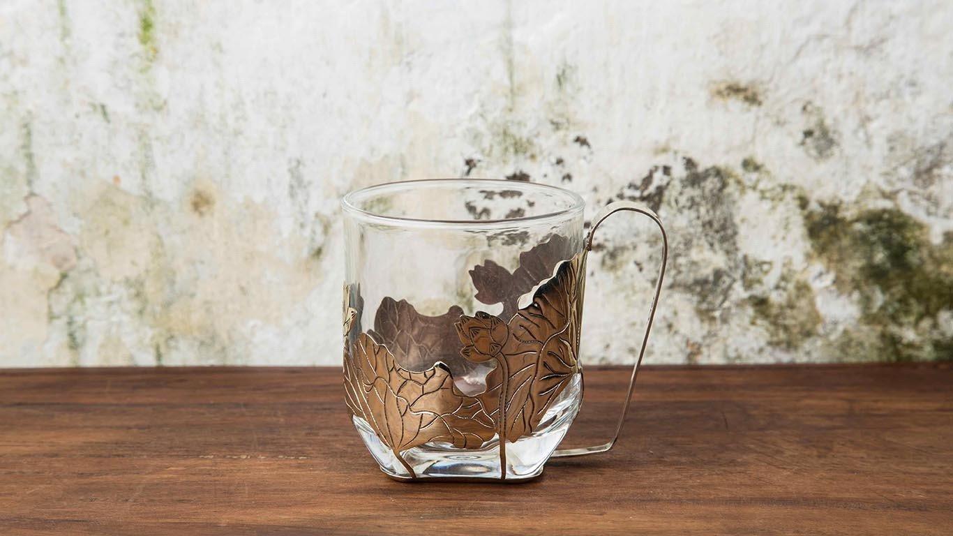 Brass cup holder 4
