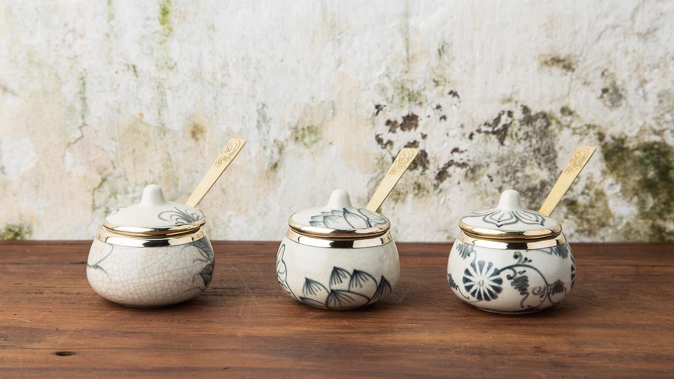 Asian Milk - Sugar Bowl Set HV2T