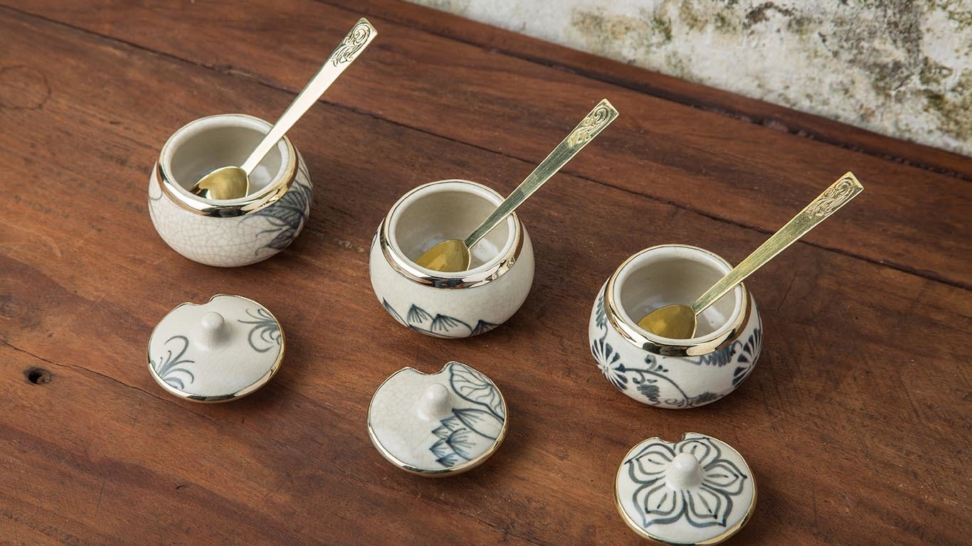 Asian Milk - Sugar Bowl Set 2