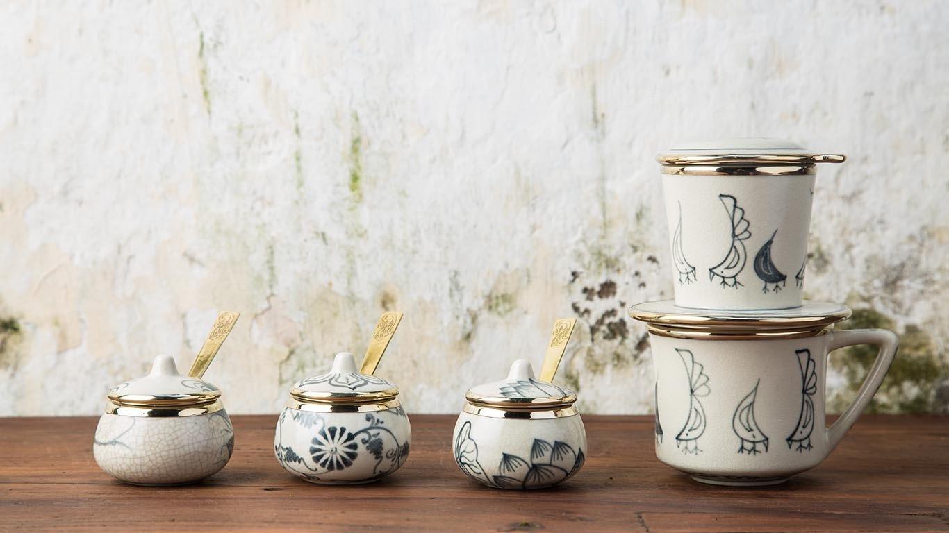 Asian Milk - Sugar Bowl Set 3