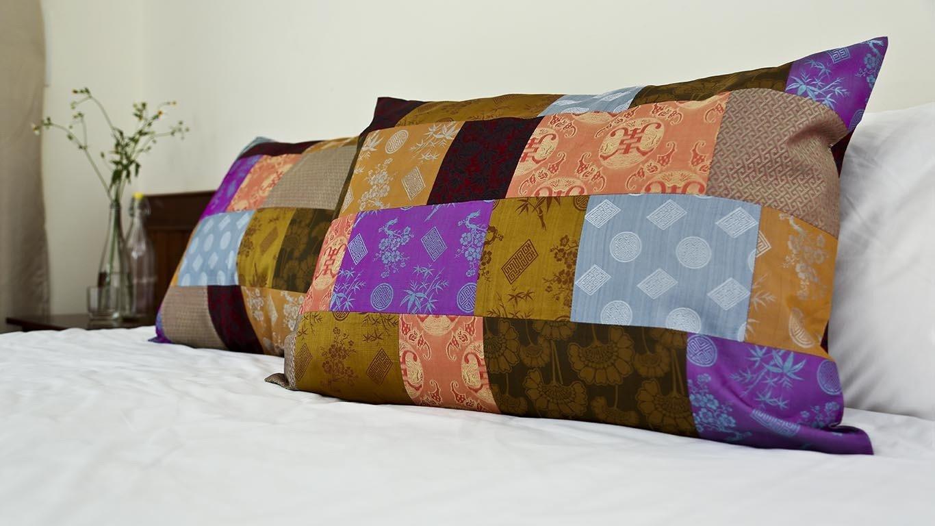 """Pillow case """"Patchwork"""" CH43BG_114"""