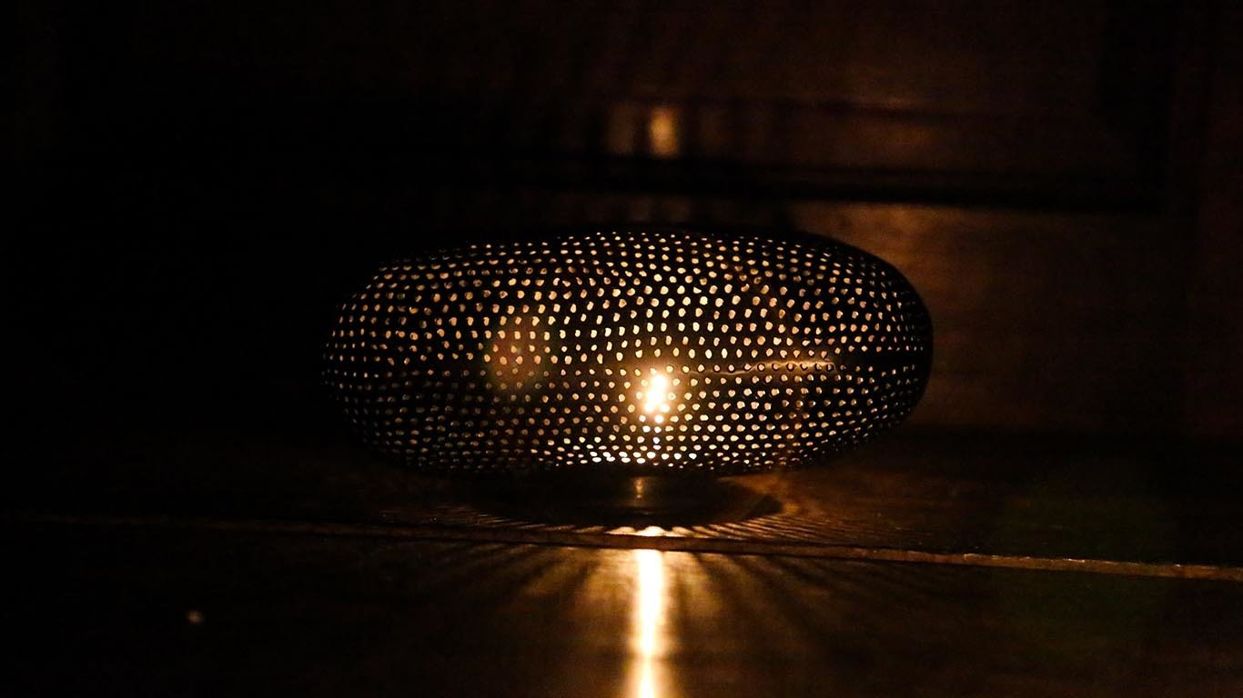 "Candle holder ""Ellipse"" HP64TS"