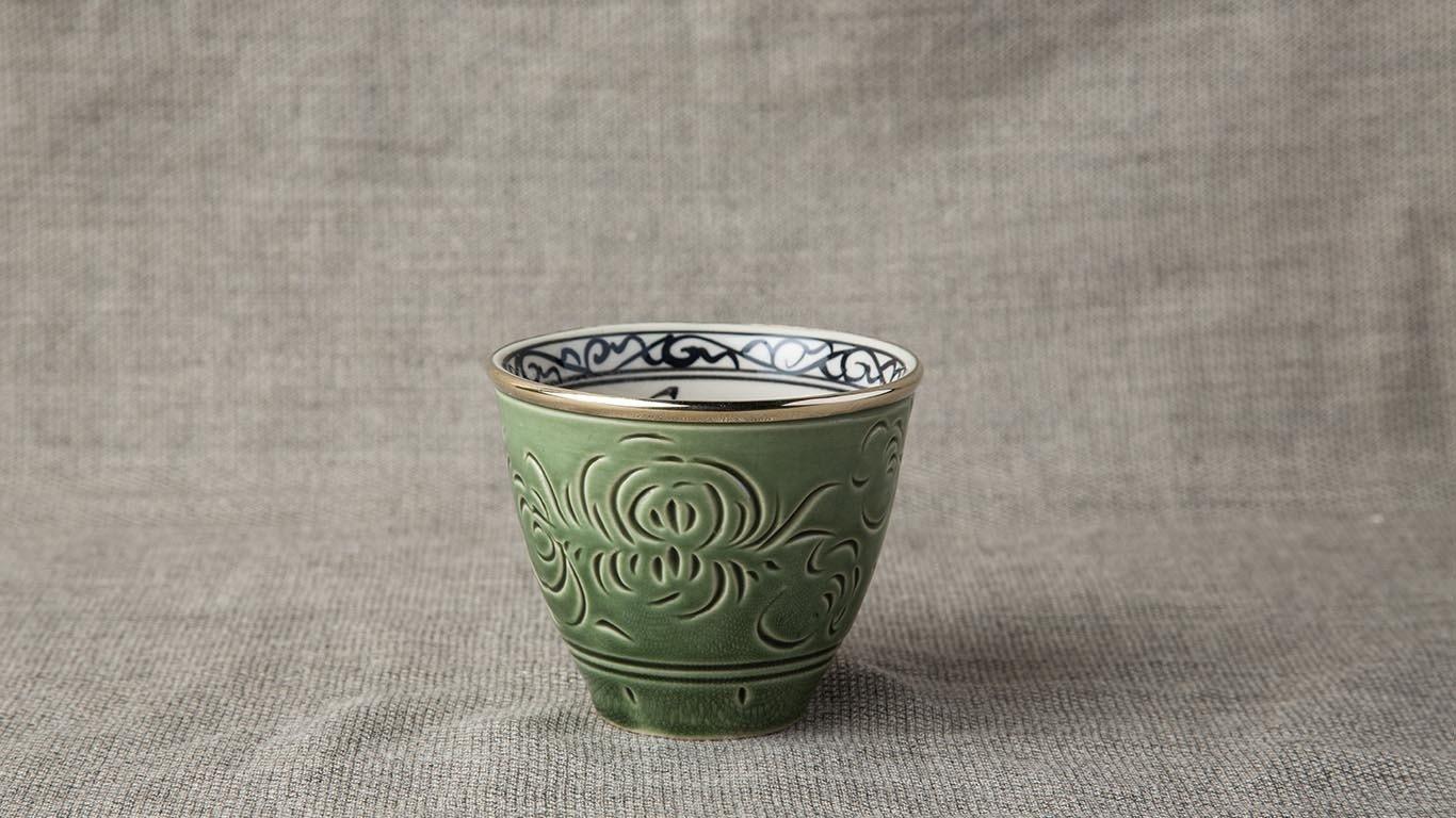Deep green cup LV65CCUL