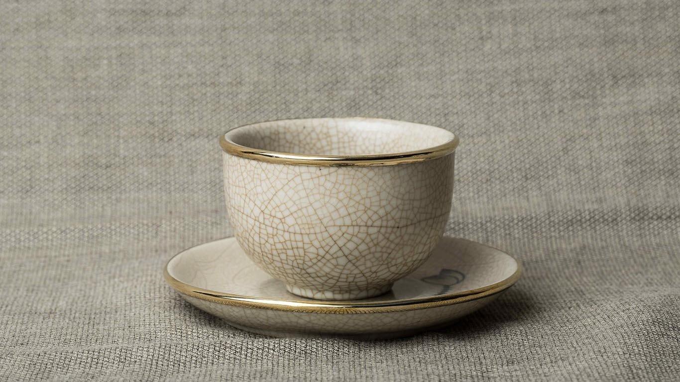 Lotus Flower Teacup