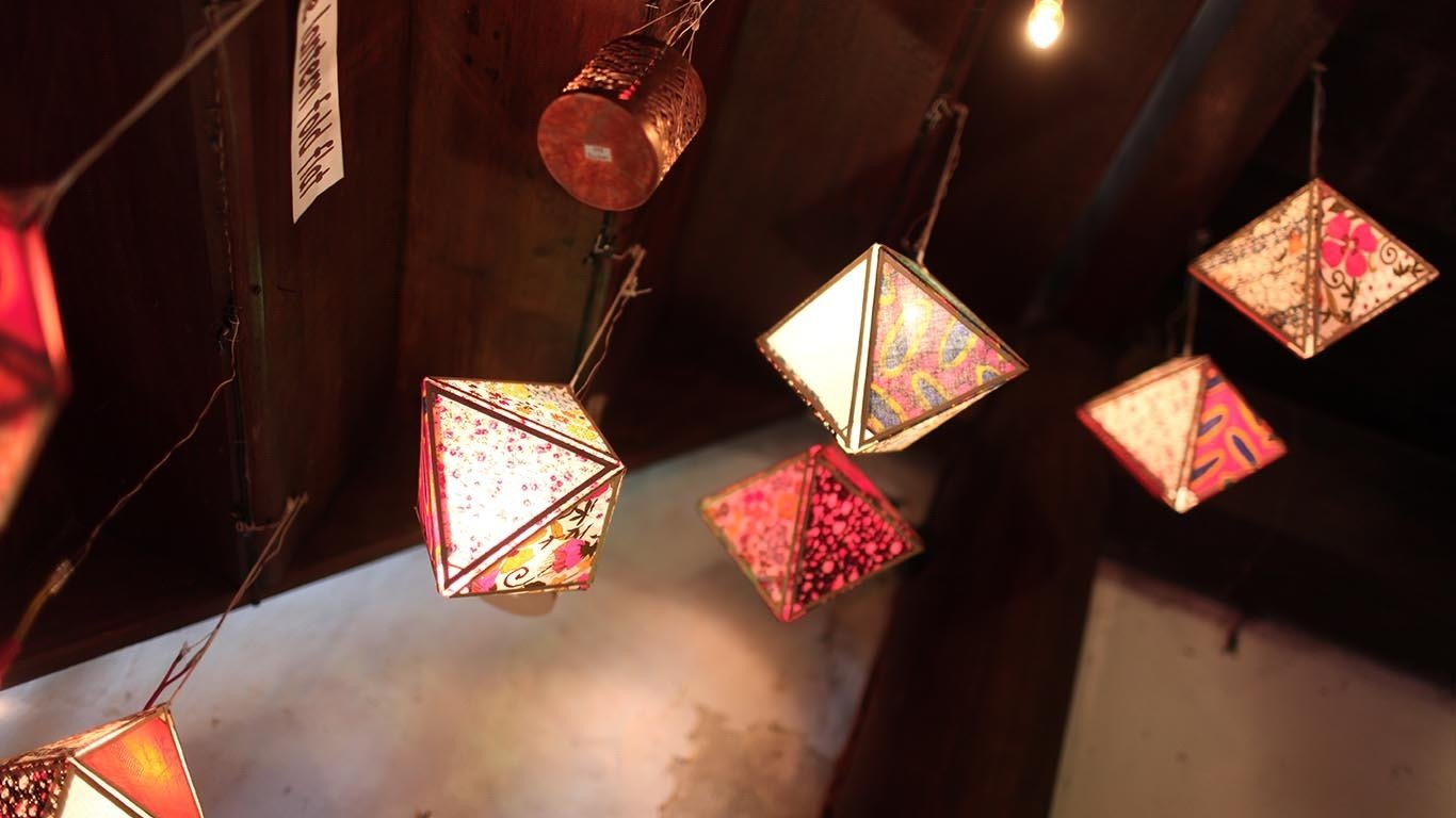 Folding Lantern Making Class pp1