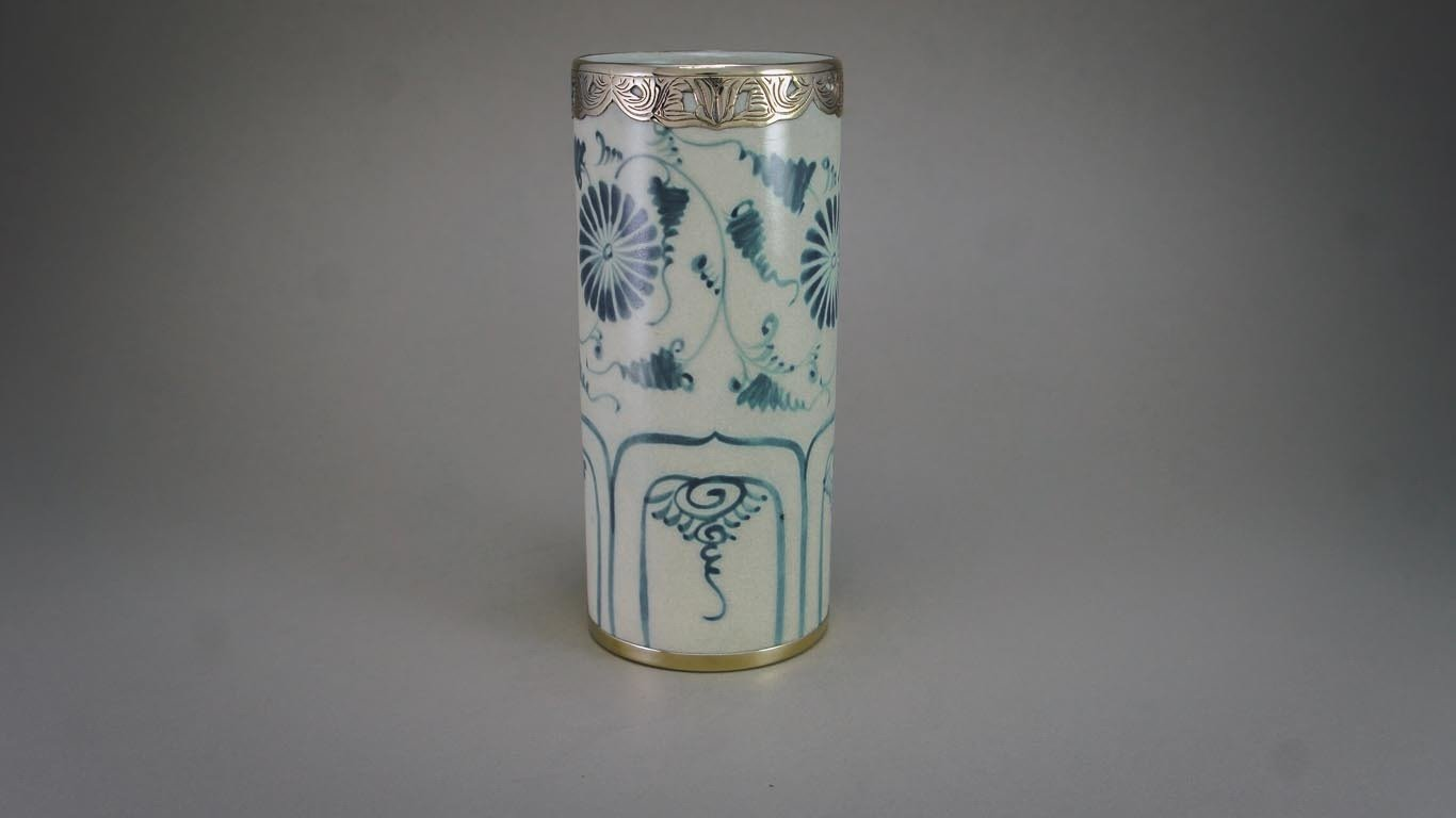 """Vase """"Blooming Daisies"""" OC2TCUR"""