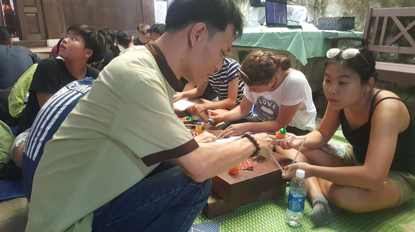 Lantern-Making Class Reservation for Corporate Partners