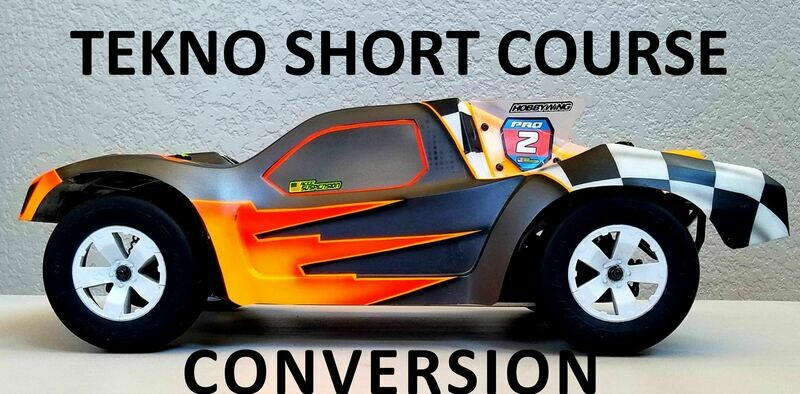 Tekno Short Course Conversion Chassis, 2WD & 4WD  - SC2410T Chassis by ProStar  Fits: SC210T/SC410L/ET410