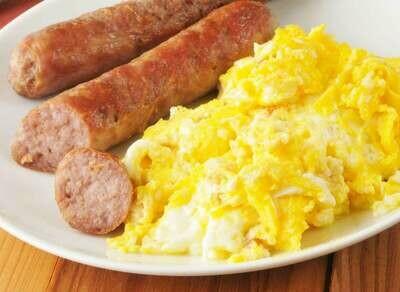 (BR) Scrambled Egg, Pork Sausage & Potato Cake