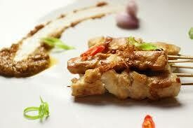 (XP) Chicken Satay w Peanut Sauce