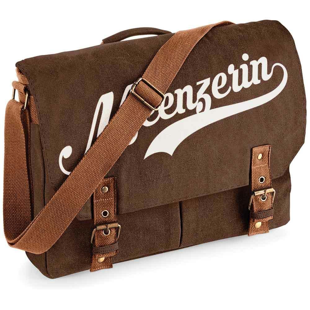 """""""Meenzerin"""" Premium Schultertasche im Vintagelook"""