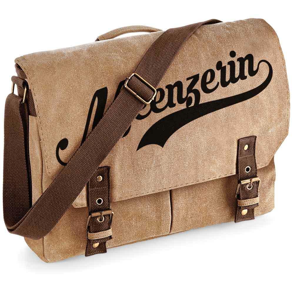 """""""Meenzerin"""" Premium Schultertasche im Vintagelook M1-RHL 92159"""