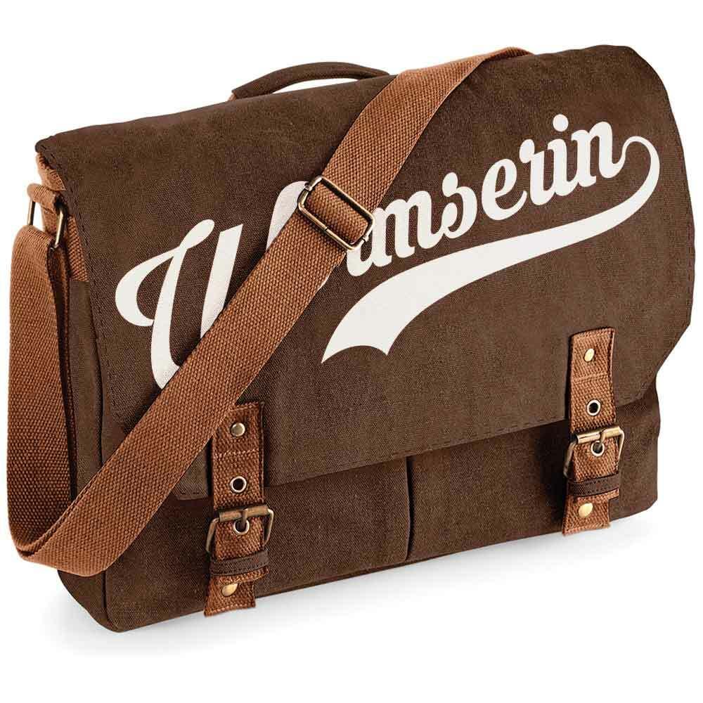 """""""Wormserin"""" Premium Schultertasche im Vintagelook"""