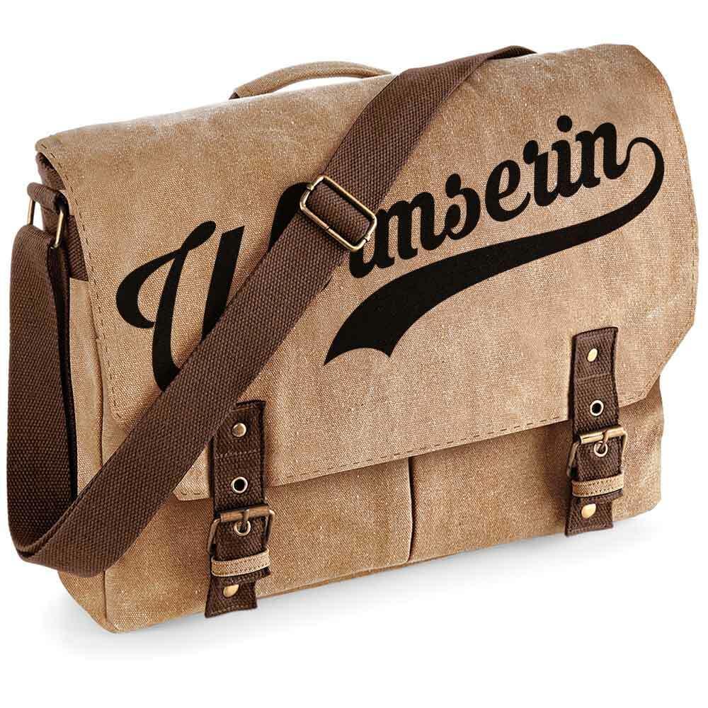 """""""Wormserin"""" Premium Schultertasche im Vintagelook M1-RHL 92122"""