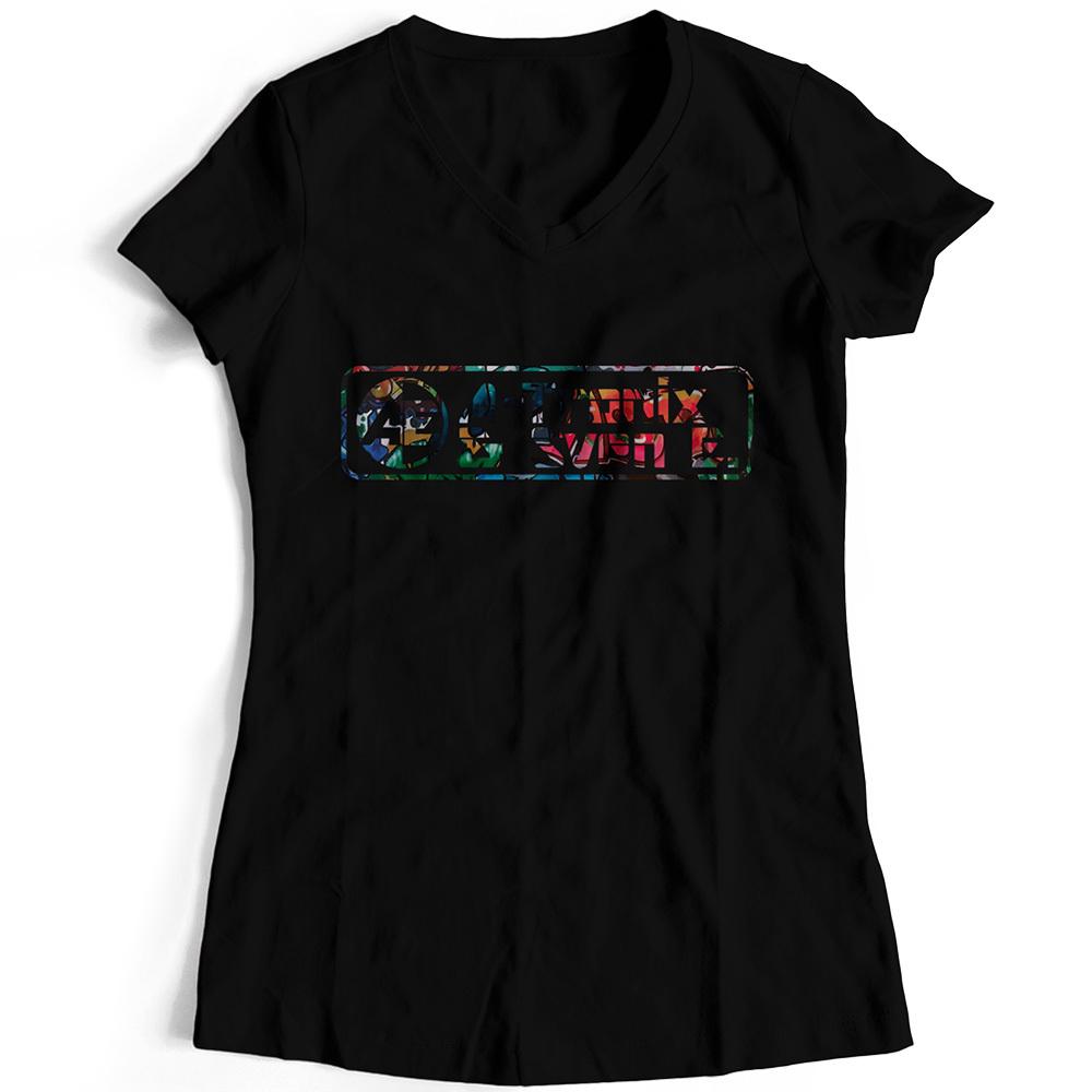A-Tronix & Sven E T-Shirt Graffiti Look (Women) 92130