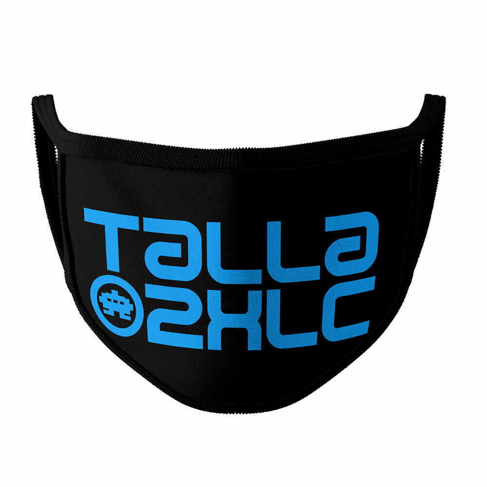 Talla 2XLC Gesichtsmaske (Verschiedene Farben & Größen) 92168