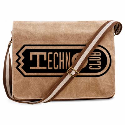 Technoclub Premium Messengerbag (Vintage Design)