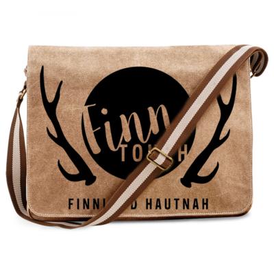 FinnTouch Premium Messengertasche im Vintagelook