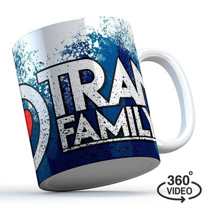 Trancefamily FFM Tasse (Blue Splash)