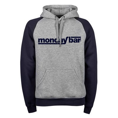 Premium Two-Tone Monday Bar Hoodie (Unisex)