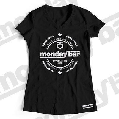 Monday Bar 25 Years Anniversary T-Shirt (Women)