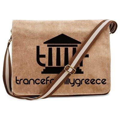 Trancefamily Greece Premium Messengerbag (Vintage Design)