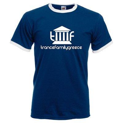 Trancefamily Greece Ringer-Shirt (Men)