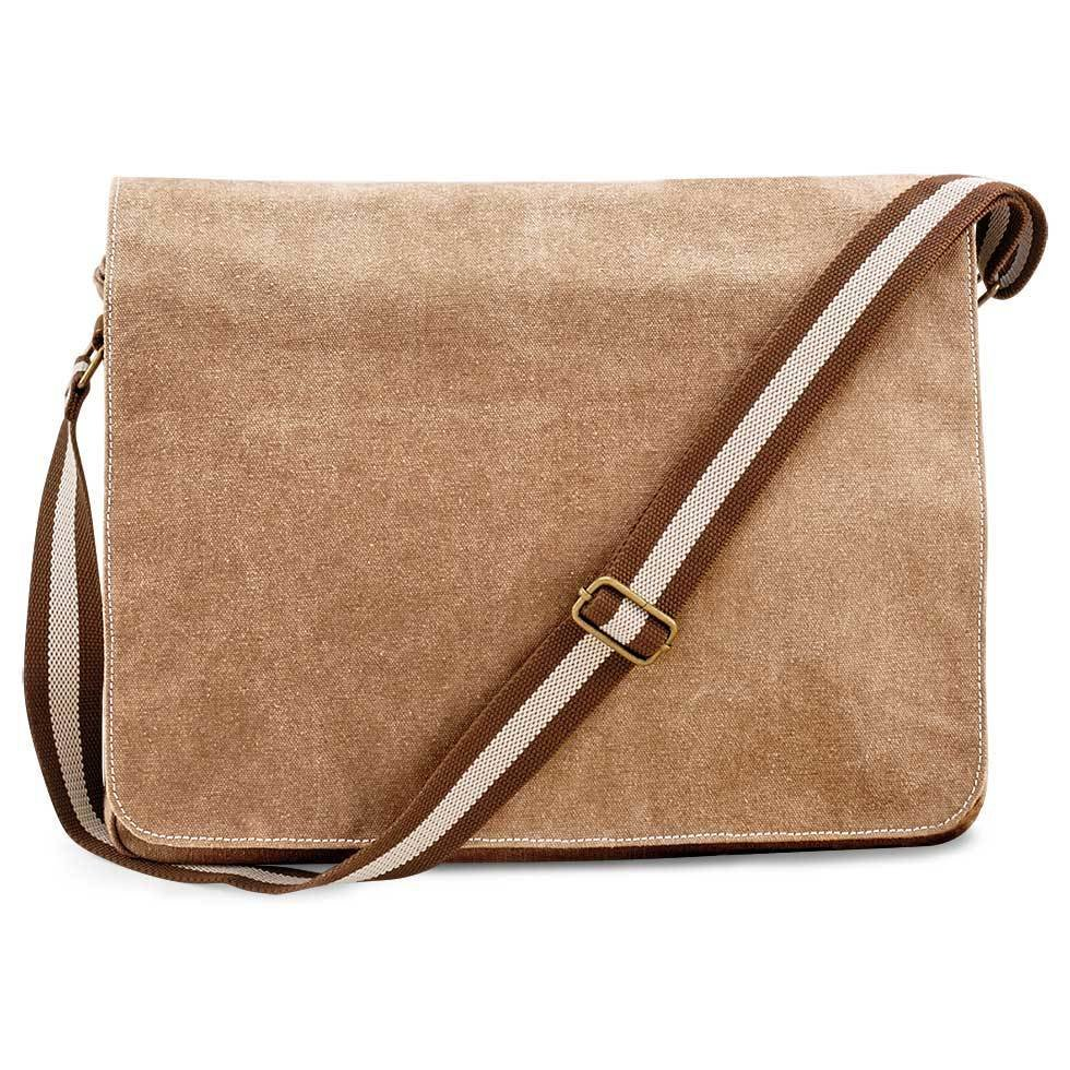 Premium Messenger Tasche im Vintagelook