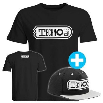 Technoclub T-Shirt + Snapback (Men)