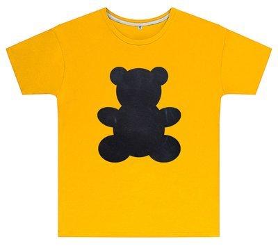 Kreideshirt mit Bär-Motiv inkl. 12er-Pack Kreide