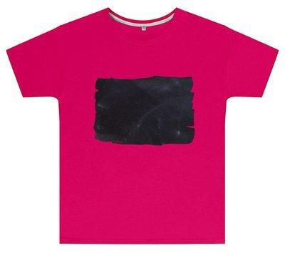Kreideshirt mit Tafel-Motiv inkl. 12er-Pack Kreide