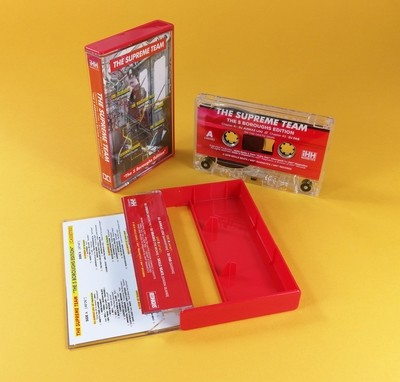 [Cassette / Audio Tape]  THE SUPREME TEAM  (DJ Brasko + DJ Fab + DJ Stresh + DJ Junkaz Lou + Skillz Beats)