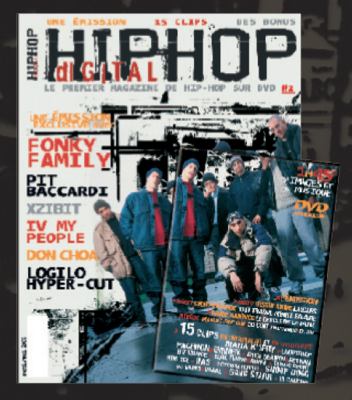 [Magazine + DVD]  DiGiTAL HiP-HOP #2  (2002)