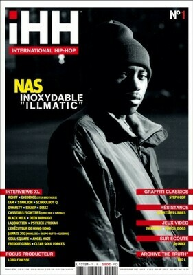 iHH™ MAGAZiNE  n° 1 (issue #1) >> 100 pages ! NAS + etc.