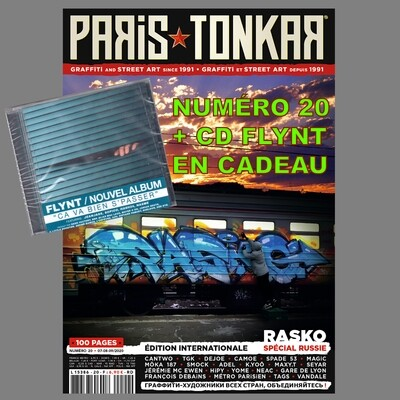 PARiS TONKAR™ iNTERNATiONAL  N° 20 + CD FLYNT
