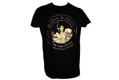 Camiseta Logo Dorado
