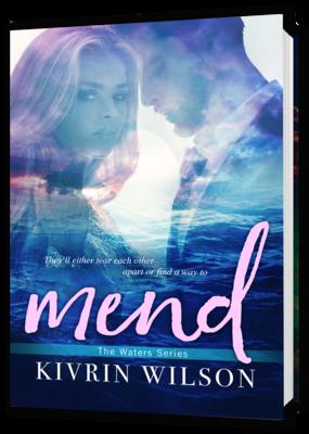 Mend, autographed paperback