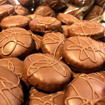 Milchschokolade - Zuckerfreie Lebkuchen - ohne Weizen - Box 10er