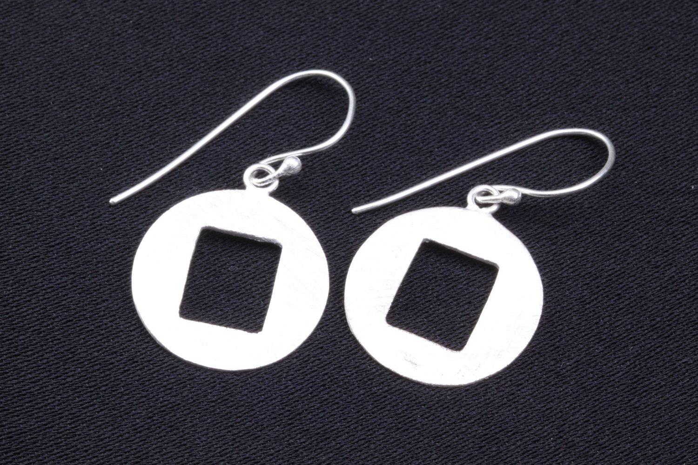 Handgemaakte oorbellen in 925 zilver