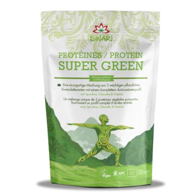 Iswari Supergreen (Spirulina, Chlorella & Matcha)