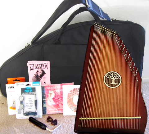 Redwood Symphony Harp Complete Set